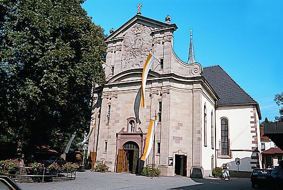 In Zell am Harmersbach ist wieder großer Wallfahrtstag