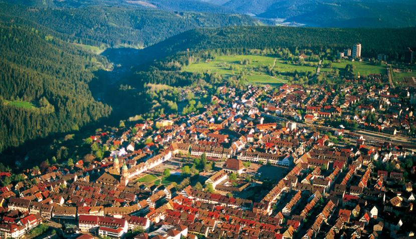 Blick über Freudenstadt ©Freudenstadt Tourismus