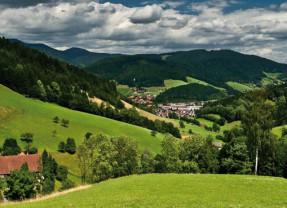 Bilderbuchlandschaft im Kinzigtal