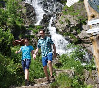 Wasserfallsteig Todtnauer Wasserfall