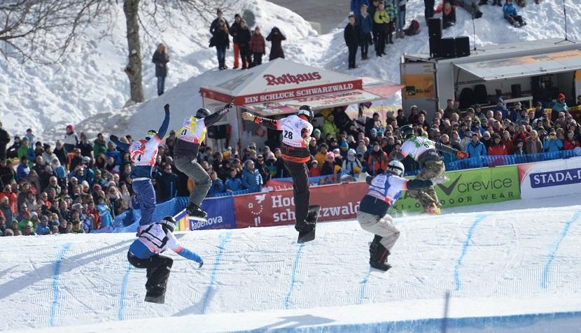 Snowboard Cross Weltcup Feldberg ©Hochschwarzwald Tourismus GmbH