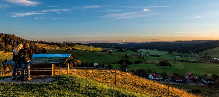 Ausblick in der Ferienwelt Südschwarzwald