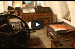 Video Historische Druckerei