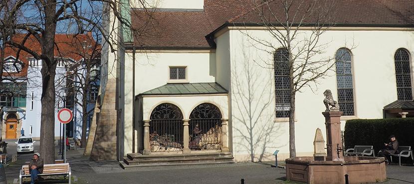 Katholische Pfarrkirche St. Alban