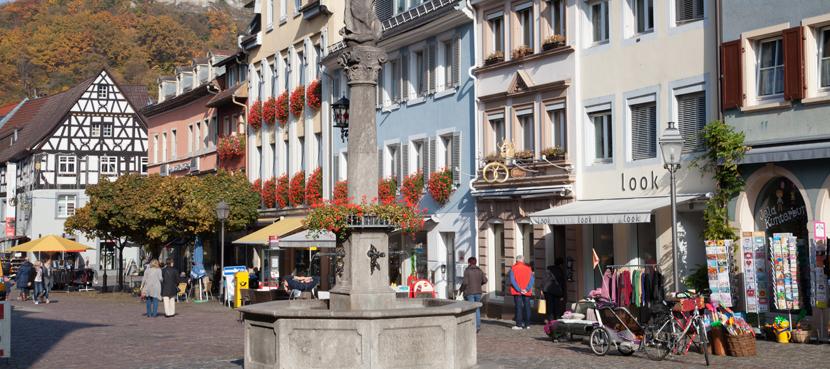 Marktplatz Waldkirch©ZweiTälerLand- Clemens Emmler
