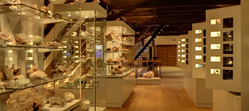 MiMa - Museum für Mineralien und Mathematik Bild: Norbert Springmann