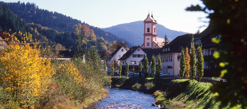 Oberwolfach Ortsteil Kirche - Bildquelle: Drei K_Springmann