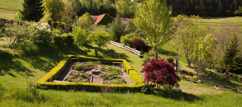 Garten der Heilpflanzen©ZweiTälerLand- Clemens Emmler