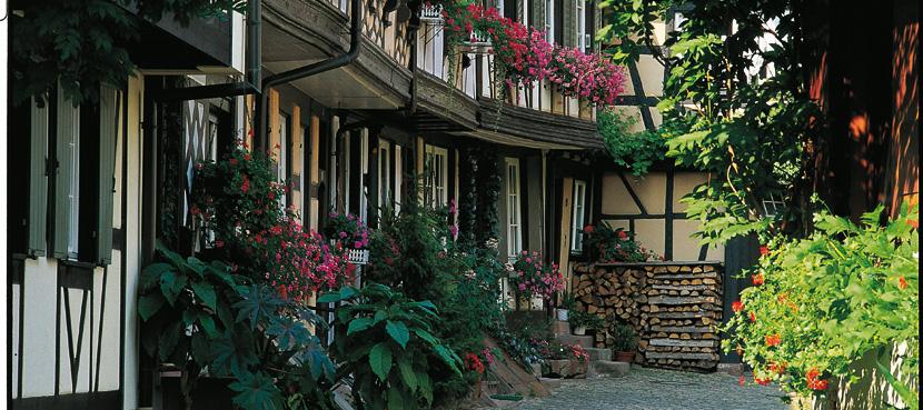 Gengenbach Engelgasse Foto: Heinz Erhardt