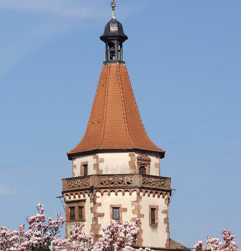 Niggelturm im Frühling Foto: Gengenbach Kultur- und Tourismus GmbH