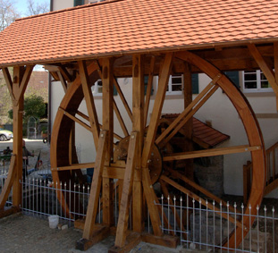 Frick-Mühle - Mühlrad