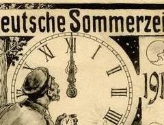 100 Jahre Sommerzeit