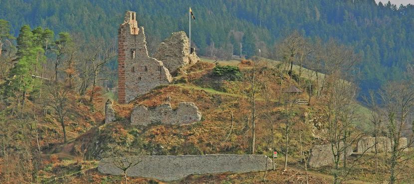 Ruine Schenkenburg ©Tourist-Information Schenkenzell