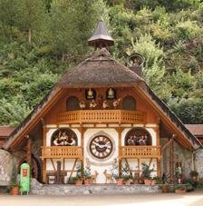 Hornberger Uhrenspiele ©Haus der Schwarzwalduhren