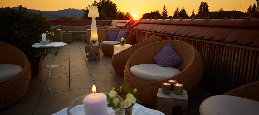 Dachterrasse ©Die Reichsstadt - Hotel & Restaurant