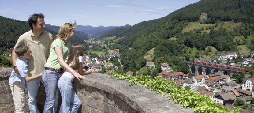 Blick vom Schlossberg ©Tourist-Information Hornberg