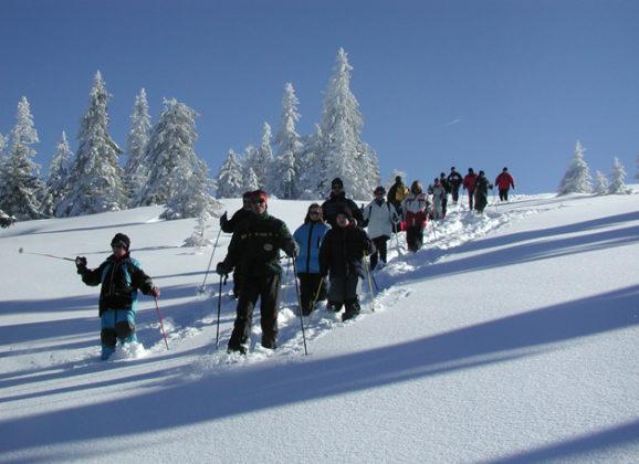 Große Schneeschuhtour am Feldberg